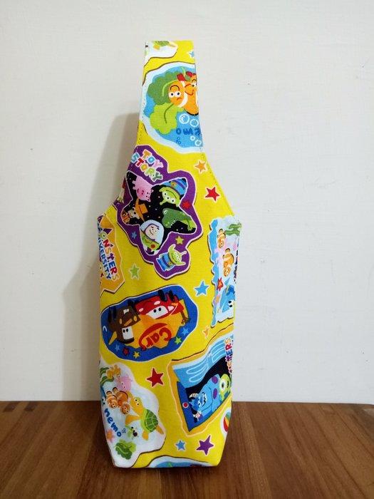 天使熊雜貨小舖~玩具總動員環保杯袋  水壺袋  全新現貨