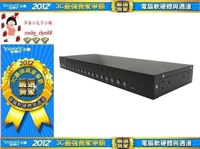 【35年連鎖老店】PSTEK XD-816ID 16 PORT PS/2 KVM 電腦切換器有發票/1年保固/附專用線材