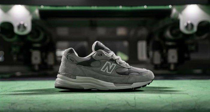 New Balance NB M992GR-D M992 2020 美製 麂皮 手工 科技潮流 元祖灰 灰色 各尺寸