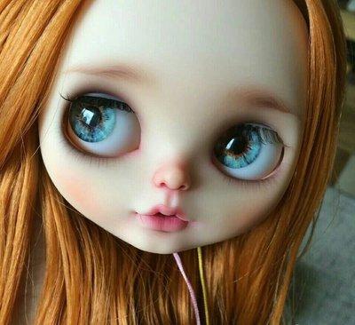 【dear馨儀下標】Blythe小布 碧麗絲 小布娃娃 小布 芭比娃娃 手工眼片 玩具 模型 公仔 一路向北