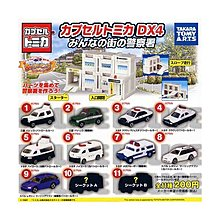 TAKARA TOMY MINI TOMICA COLLECTION Police DX4 警察署 No. 7 警車