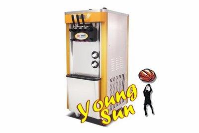暑假 霜淇淋機商用 冰淇淋機 三色甜筒雪糕機 全自動 立式霜淇淋 DIY製冰機 暑假透心涼 出租/出售  陽昇國際
