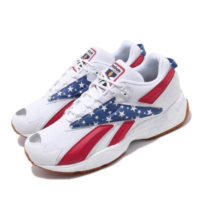 =CodE= REEBOK INTV 96 透氣網慢跑鞋(白藍紅)FV5473 奧運星星 INTERVAL 老爹鞋 男女