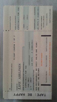 日本帶回  機票造型 手工製作 多功能特色筆記本 製作年代 手工書  原價1萬日幣