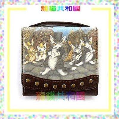 ※龍貓共和國※《日本dayan全真皮牛皮Wachifield 瓦奇菲爾德 達洋貓咪 皮夾短夾 》生日情人節聖誕節禮物