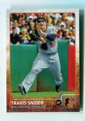 2015 Topps Series 2 #355 Travis Snider 金鶯隊
