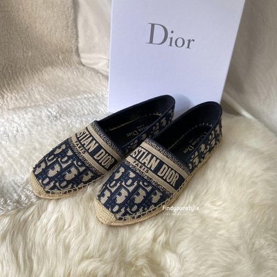 Findyourstyle正品代購 DIOR 老花漁夫鞋
