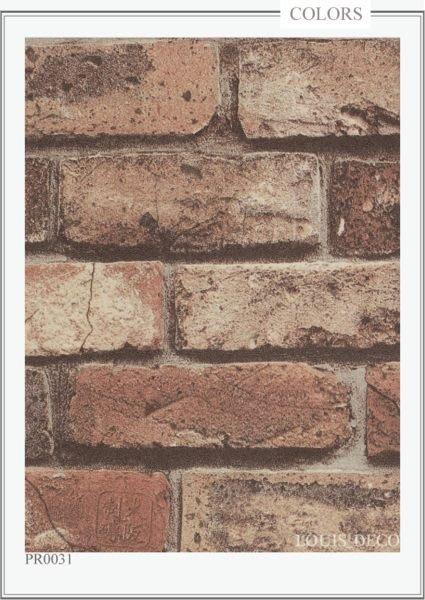 *Louis_Deco 防焰壁紙.超仿真磚紋.仿古磚塊.每支550元【PR】