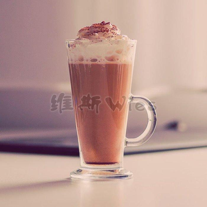 聚吉小屋 #熱賣加厚果汁透明高身杯熱飲杯餐飲杯冰咖啡杯奶茶杯長飲杯沙冰杯