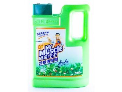 【B2百貨】 威猛先生地板清潔劑-清新早晨(2000ml) 4710314451240 【藍鳥百貨有限公司】