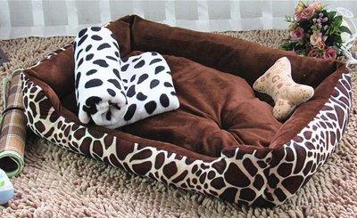 【興達生活】狗窩可拆洗泰迪冬季保暖寵物貓窩金毛狗床墊子小型大型犬狗狗用品`21659