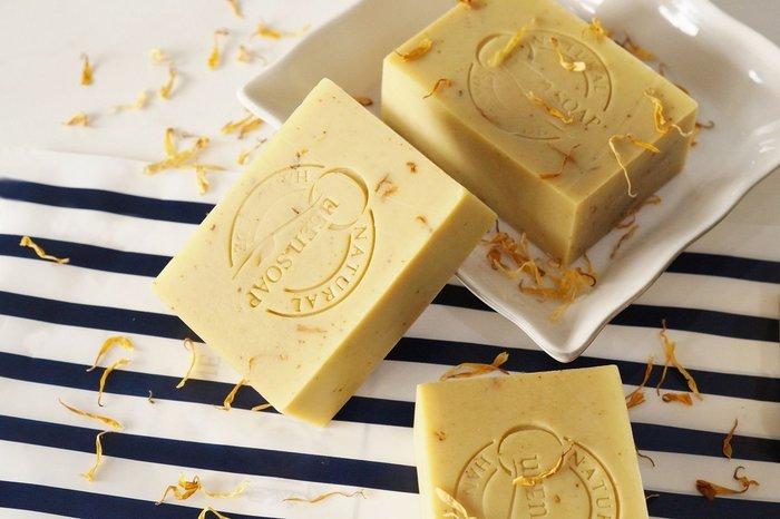 女王天然手工皂「金盞月見草-舒敏保濕皂」  手工香皂 手工肥皂