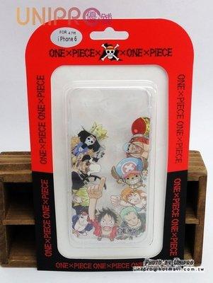 【UNIPRO】【預購】iPhone 6 6S 4.7吋 航海王 全員系列 TPU 手機殼 One Piece 海賊王