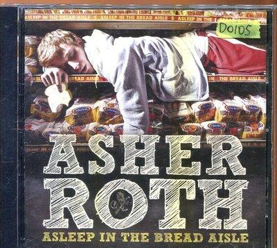 *還有唱片四館*ASHER ROTH / ASLEEP IN THE BREAD  二手 D0105 (封面底破)