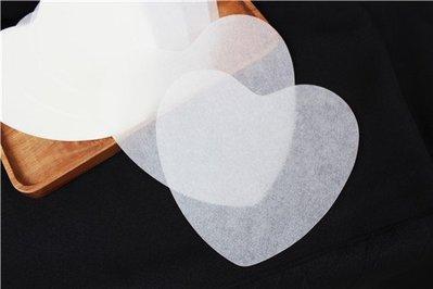 瑞典蛋糕脫模紙墊(心型8吋)50張_Q-HEART-8◎8吋.瑞典.蛋糕.脫模.紙墊.脫模紙.烘焙紙.愛心.心型 台南市