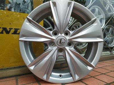 新車拆下 Lexus UX250h 原廠17吋鋁圈 CAMRY RAV4 CHR INNOVA GS300 LS400 5/114.3 可以直接安裝
