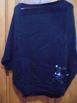 萊卡佛 Laicar Fore熊熊圖案可愛造型針織上衣(竇騰璜 流行秀 貝爾尼尼 溫慶珠)