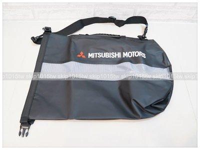 [汽車精品]全新原廠 MITSUBISHI MOTORS 三菱 品牌限量紀念 旅行袋 海灘 沙灘 水桶包 提袋 附肩背帶