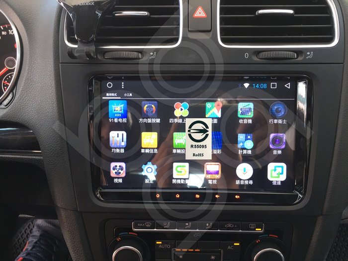 Volkswagen 福斯 GTI -9吋福斯專用機.Android.觸控螢幕.usb.導航.網路電視.公司貨保固一年