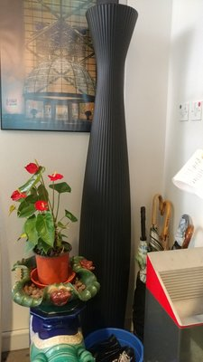 Serralunga 意大利花瓶 (黑色)
