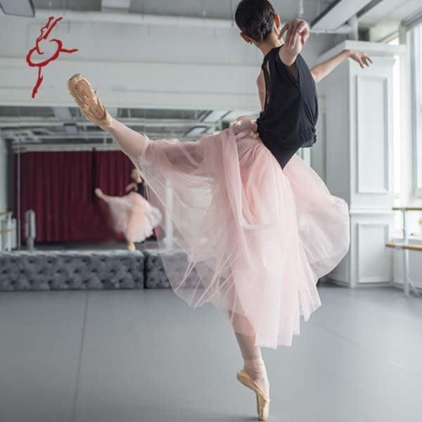 5Cgo【鴿樓】會員有優惠  16954914492 芭蕾舞衣 德加風芭蕾長紗裙長款/短款 四層美國網多色專業款