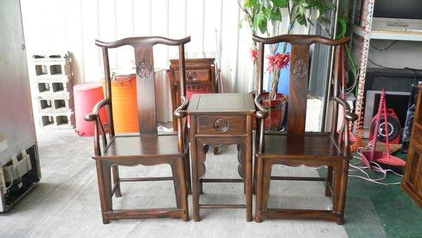 宏品二手家具館 實木傢俱工廠 Q110*雞翅木明式公婆椅*洽談桌椅/餐桌椅/泡茶桌椅/會議桌椅/戶外休閒桌椅