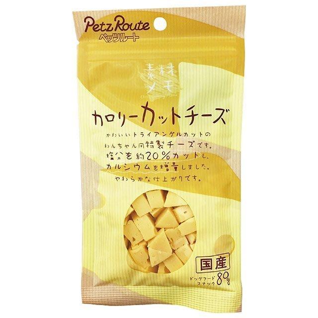 *COCO*日本Petz Route沛滋露犬用角切起司塊80g/包,訓練點心/狗零食
