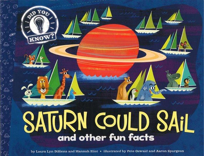 *小貝比的家*DID YOU KNOW: SATURN COULD SAIL AND OTHER FUN FACTS
