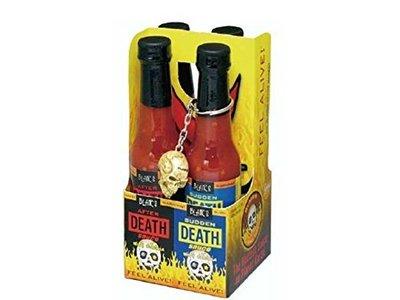 日本 死亡辣醬 布雷爾猝死辣醬 骷顱頭 辣椒醬 Blair's Death Sauce 整人 調味料 莎莎醬【全日空】