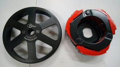 仕輪部品 最大動力 鑄鋼碗公極限版離合器 RX 110 JR 100 高手 MIO 得意 WOO 傳動組 光陽 改裝