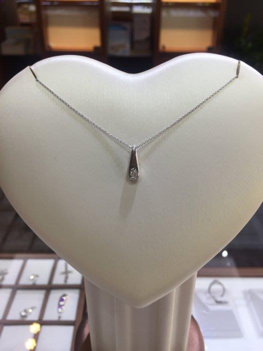 天然10分鑽石墜飾18K金,日系輕珠寶設計,精選特賣商品6800