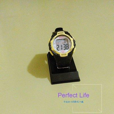 冷光防水鬧鈴電子錶(黑)