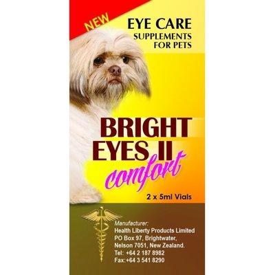 公司貨附發票 台中歡迎自取 Bright Eyes 寵物 晶亮 睛亮 滴劑 眼睛專用保養液 5ml*2瓶裝/寵物眼睛保養
