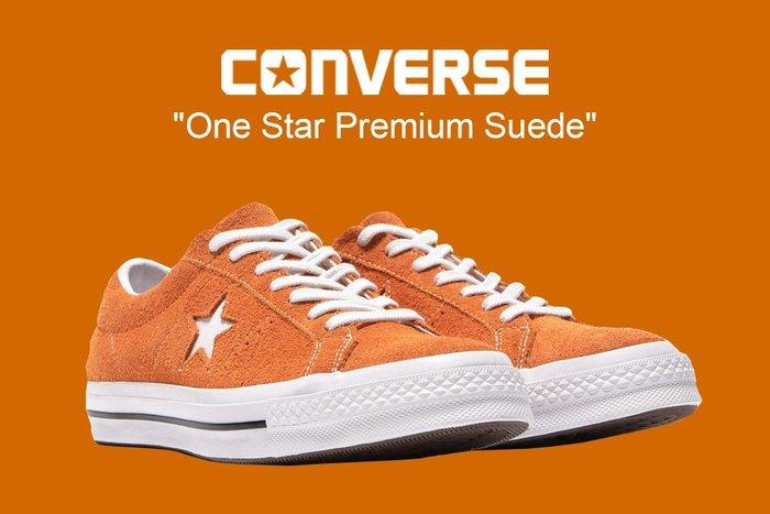 [NMR] CONVERSE 帆布鞋 18 F/W 161574C One Star Premium Suede