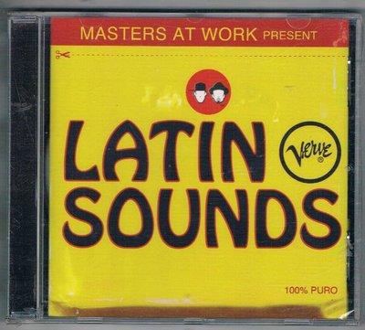 [鑫隆音樂]西洋CD-Masters At Work Present -Latin Verve Sounds /全新/免競標