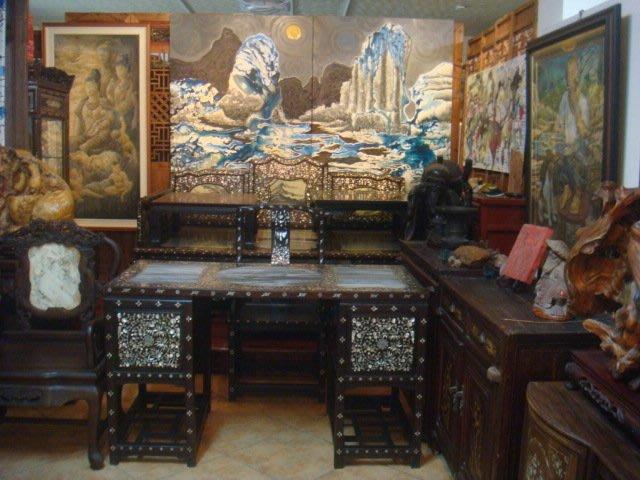 畫家作品及各類古董文物酸枝木床桌椅銅木雕收藏割讓(免費參觀)歡迎藝文之旅