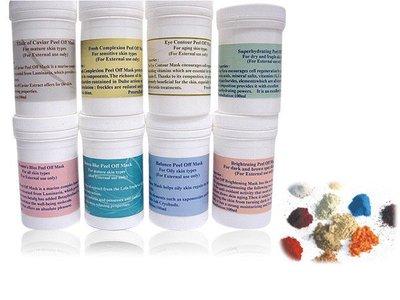 貿商嚴選♥法國進口軟膜組合系列/100ml*8瓶嚐鮮價!SPA專用軟膜粉/免運費