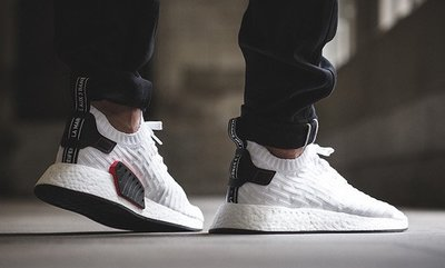 【Ambitions】Adidas Nmd R2 PK 白色 熊貓  黑尾 BY3015
