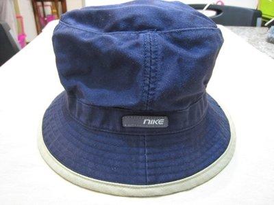NIKE 深藍色 漁夫帽/M-L