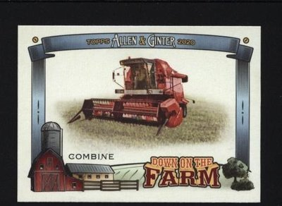 特卡 2020 Topps Allen and Ginter Down on the Farm #DFCO Combine