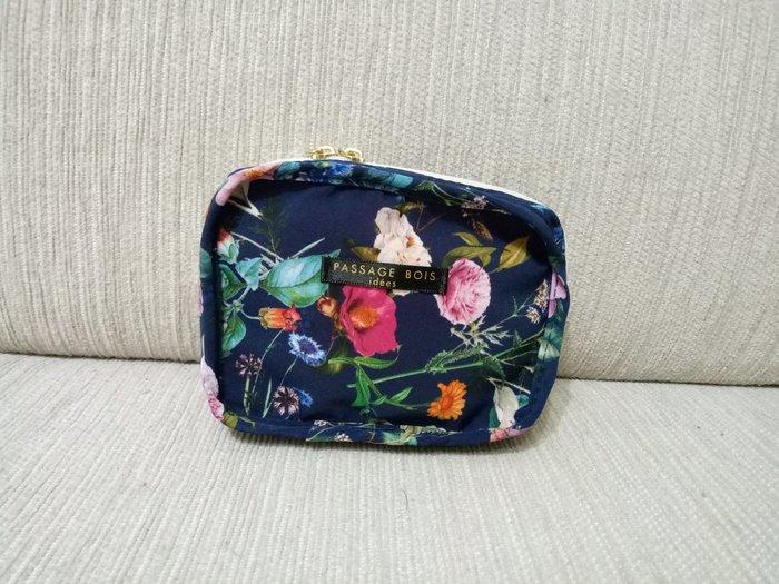 天使熊雜貨小舖~PASSAGE BOIS 花漾收納包  全新現貨
