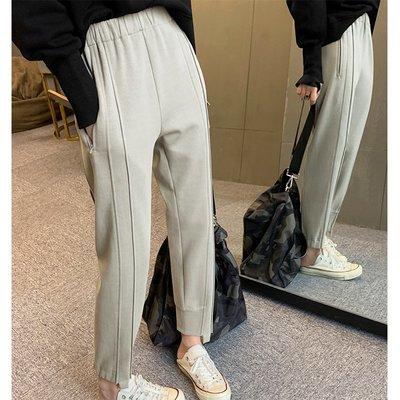 【UBY】重工解構褲!設計感休閒直筒褲◄No09204