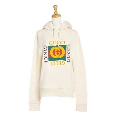GUCCI Oversize sweatshirt with Gucci logo 衛衣 帽t