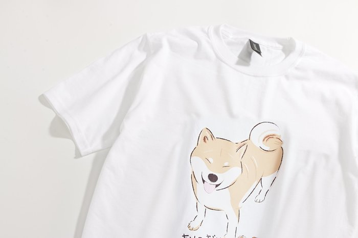 Shiba T-Shirt 小飯糰 柴犬T 笑笑柴HahahaT
