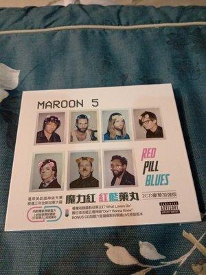 MAROON 5 魔力紅樂團  Red Pill Blues 紅藍藥丸 (2CD豪華加強版) 全新