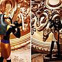 預購品 設計 手工彩繪-21cm 托特神(Thoth),透特 / 圖特 ]- 埃及藝術 瓷 西洋瓷