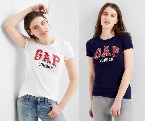 GAP 短袖T恤 女生 LONDON 城市LOGO  美國甜心屋