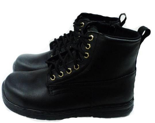 美迪-超鐵EF1087-高筒(拉鍊)工作安全鞋(台灣製-參考尺寸表選號-(檢內登字第R53754號)