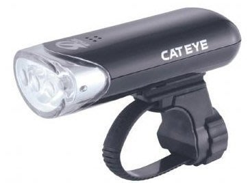 全新 日本貓眼 CATEYE HL-EL135 三段式3顆LED前燈/車燈/頭燈 增加50%亮度 黑