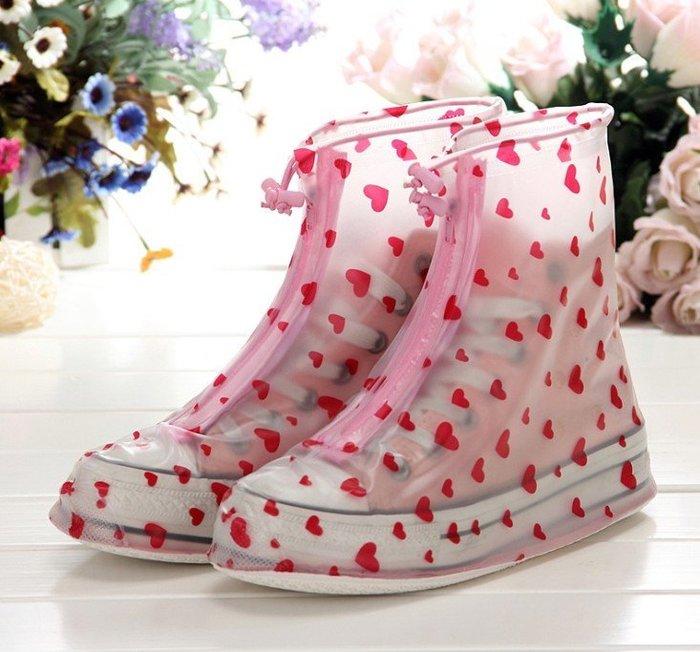 加厚防滑超耐磨防雨鞋套 日系時尚防滑雨鞋套
